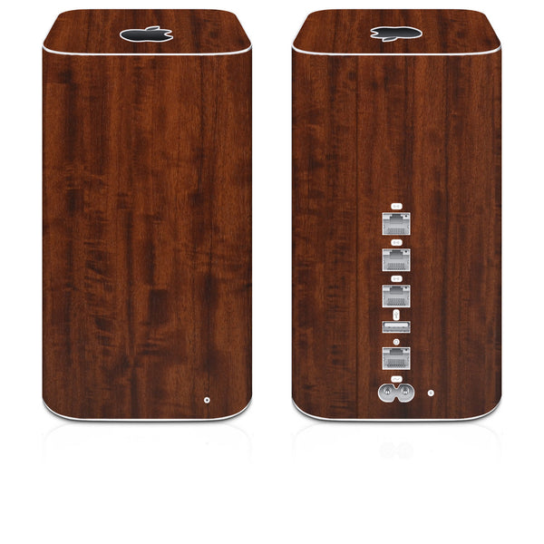 Airport Extreme Skins (2013-Current) - Wood Grain - iCarbons - 1
