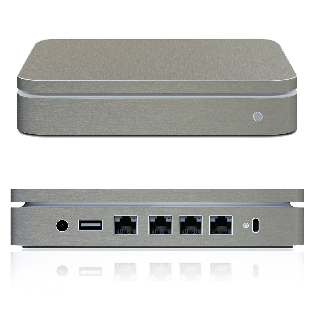 Airport Extreme Skin (2007 - Mid 2013) - Brushed Titanium - iCarbons