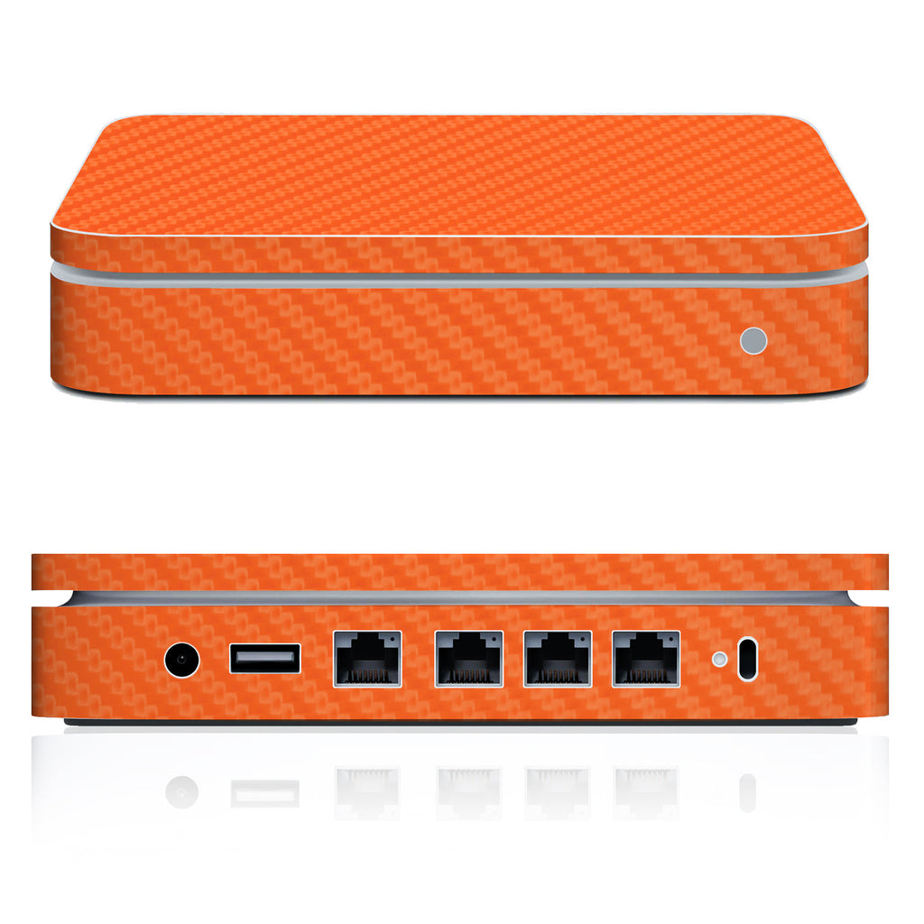 Airport Extreme Skin (2007 - Mid 2013) - Orange Carbon Fiber - iCarbons