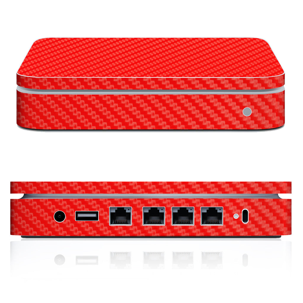 Airport Extreme Skin (2007 - Mid 2013) - Red Carbon Fiber - iCarbons