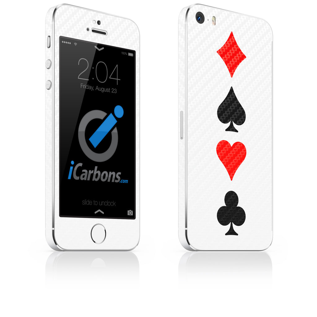 Full House iPhone 4-5S Skin - iCarbons - 1