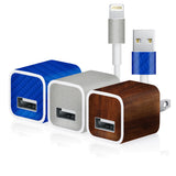 Apple Charger Skin - 3 Pack - iCarbons - 1