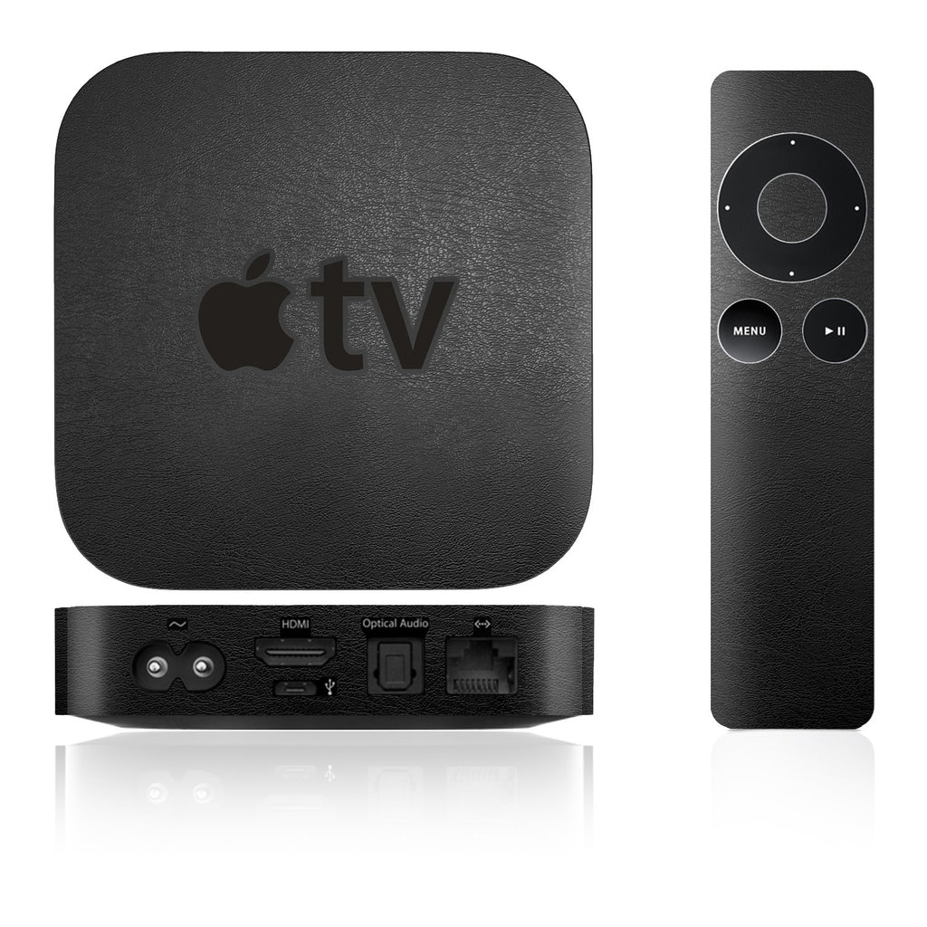 Apple TV Skins - 2nd & 3rd Gen - Leather - iCarbons - 1