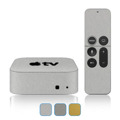 Apple TV 4K Skins - 5th Gen - Brushed Metal