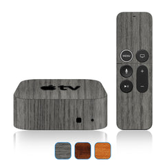 Apple TV 4K Skins - 5th Gen - Wood Grain