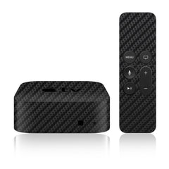 Apple TV Skins - 4th Gen - Carbon Fiber