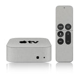 Apple TV Skins - 4th Gen - Brushed Metal - iCarbons - 1