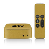 Apple TV Skins - 4th Gen - Brushed Metal - iCarbons - 3
