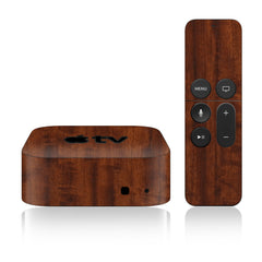 Apple TV Skins - 4th Gen - Wood Grain