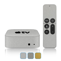 Apple TV Skins - 4th Gen - Brushed Metal
