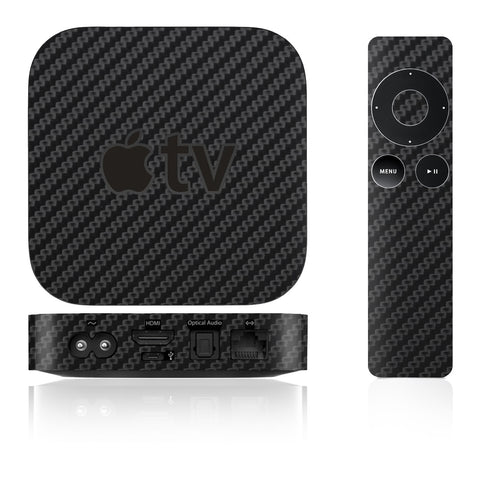 Apple TV Skins - 2nd & 3rd Gen - Carbon Fiber - iCarbons - 1
