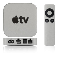 Apple TV Skins - 2nd & 3rd Gen - Brushed Metal