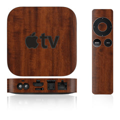 Apple TV Skins - 2nd & 3rd Gen - Wood Grain