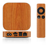 Apple TV Skins - 2nd & 3rd Gen - Wood Grain - iCarbons - 4
