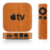 Apple TV Skins - 2nd & 3rd Gen - Wood Grain - iCarbons - 2