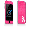 Breast Cancer Awareness iPhone 4-5S Skin - iCarbons - 2