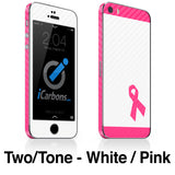 Breast Cancer Awareness iPhone 4-5S Skin - iCarbons - 6