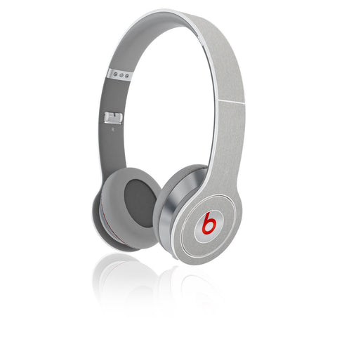 Beats Solo / HD Skins (1st Gen) - Brushed Metal - iCarbons - 1