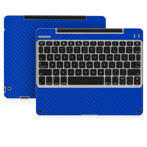 Clamcase Pro - Blue Carbon Fiber - iCarbons - 1