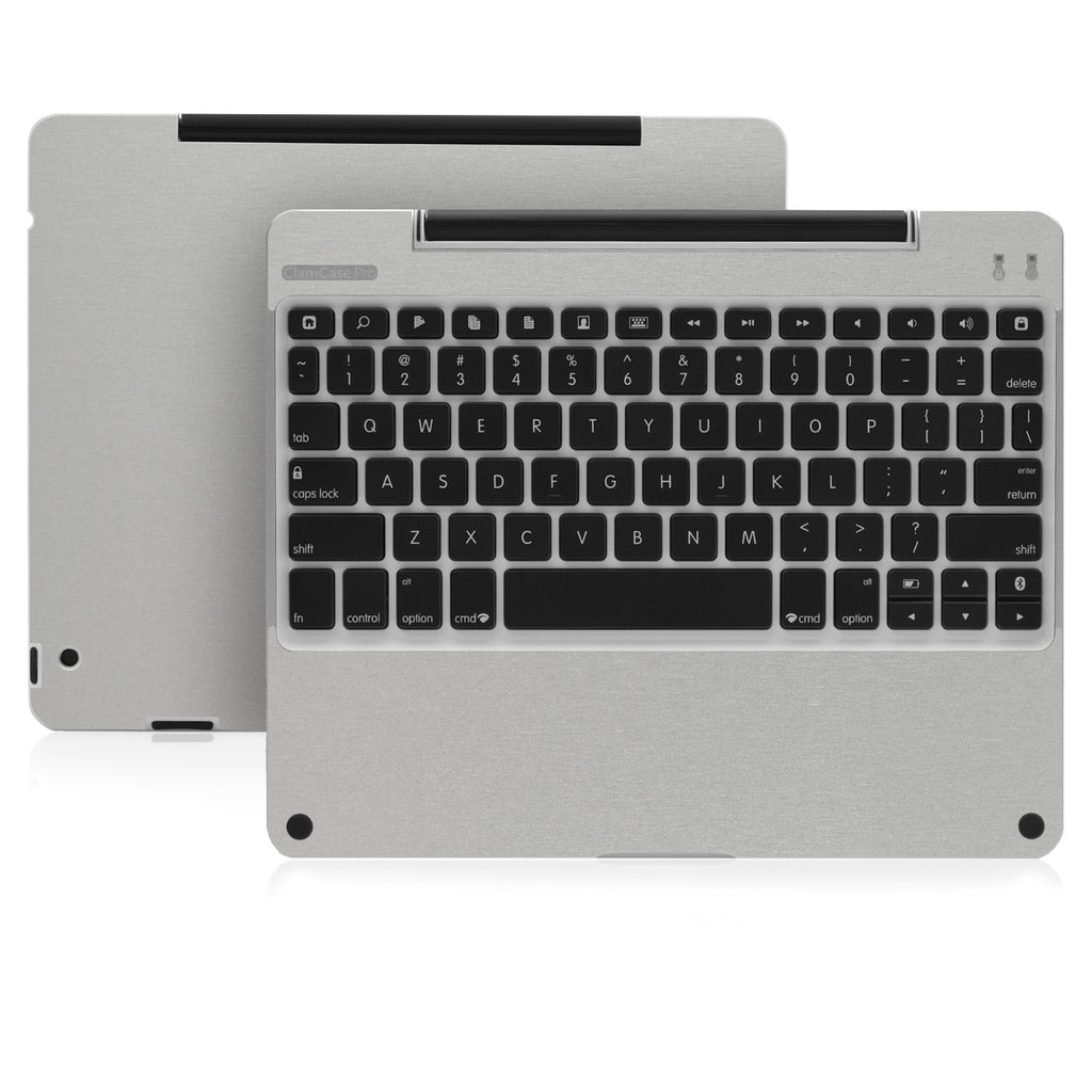 Clamcase Pro - Brushed Aluminum - iCarbons - 1