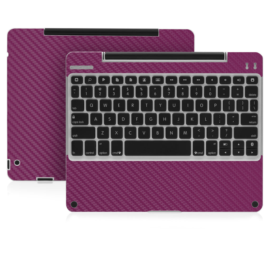 Clamcase Pro - Purple Carbon Fiber - iCarbons - 1