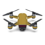 DJI Spark Skins - Brushed Metal Gold