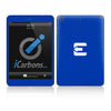 Official Evad3rs iPad Skin - Blue Carbon Fiber - iCarbons - 2