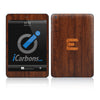 Official Evad3rs iPad Skin - Dark Wood - iCarbons - 2