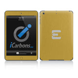 Official Evad3rs iPad Skin - Brushed Gold - iCarbons - 2