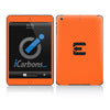 Official Evad3rs iPad Skin - Orange Carbon Fiber - iCarbons - 2