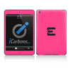 Official Evad3rs iPad Skin - Pink Carbon Fiber - iCarbons - 2