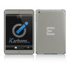 Official Evad3rs iPad Skin - Brushed Titanium - iCarbons - 2