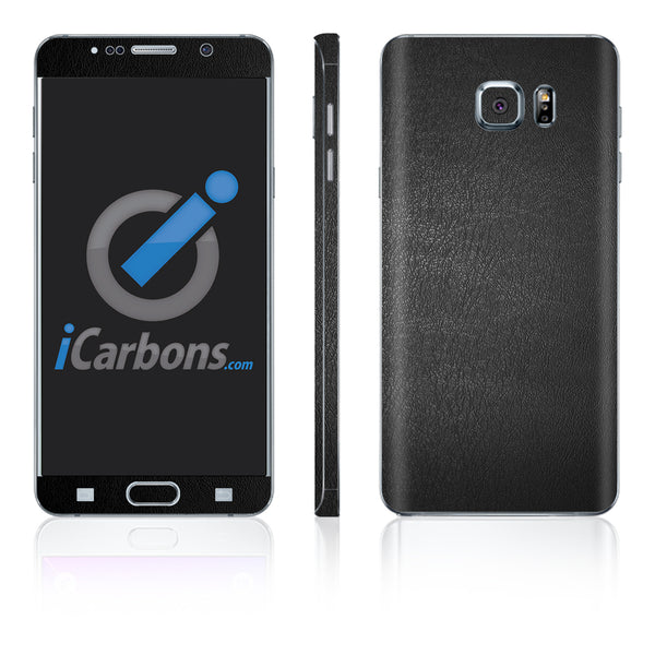 Samsung Galaxy Note 5 Skins - Leather - iCarbons - 2