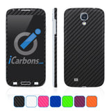 Samsung Galaxy S4 Skins - Carbon Fiber - iCarbons - 1