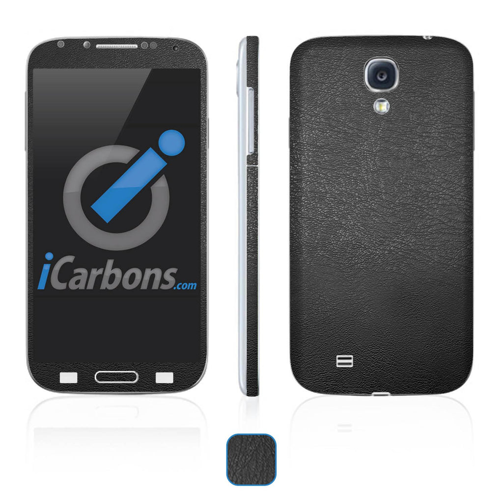Samsung Galaxy S4 Skins - Leather - iCarbons - 1