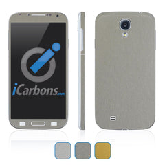 Samsung Galaxy S4 Skins - Brushed Metal