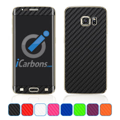 Samsung Galaxy S6 Edge Plus Skins - Carbon Fiber