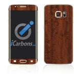 Samsung Galaxy S6 Edge Plus Skins - Wood Grain - iCarbons - 2