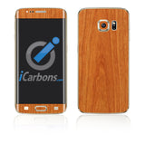 Samsung Galaxy S6 Edge Plus Skins - Wood Grain - iCarbons - 3
