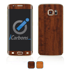 Samsung Galaxy S6 Edge Plus Skins - Wood Grain