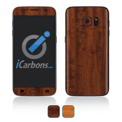 Samsung Galaxy S7 Skins - Wood Grain