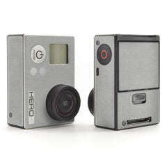 GoPro Hero 3 Skins - Brushed Metal