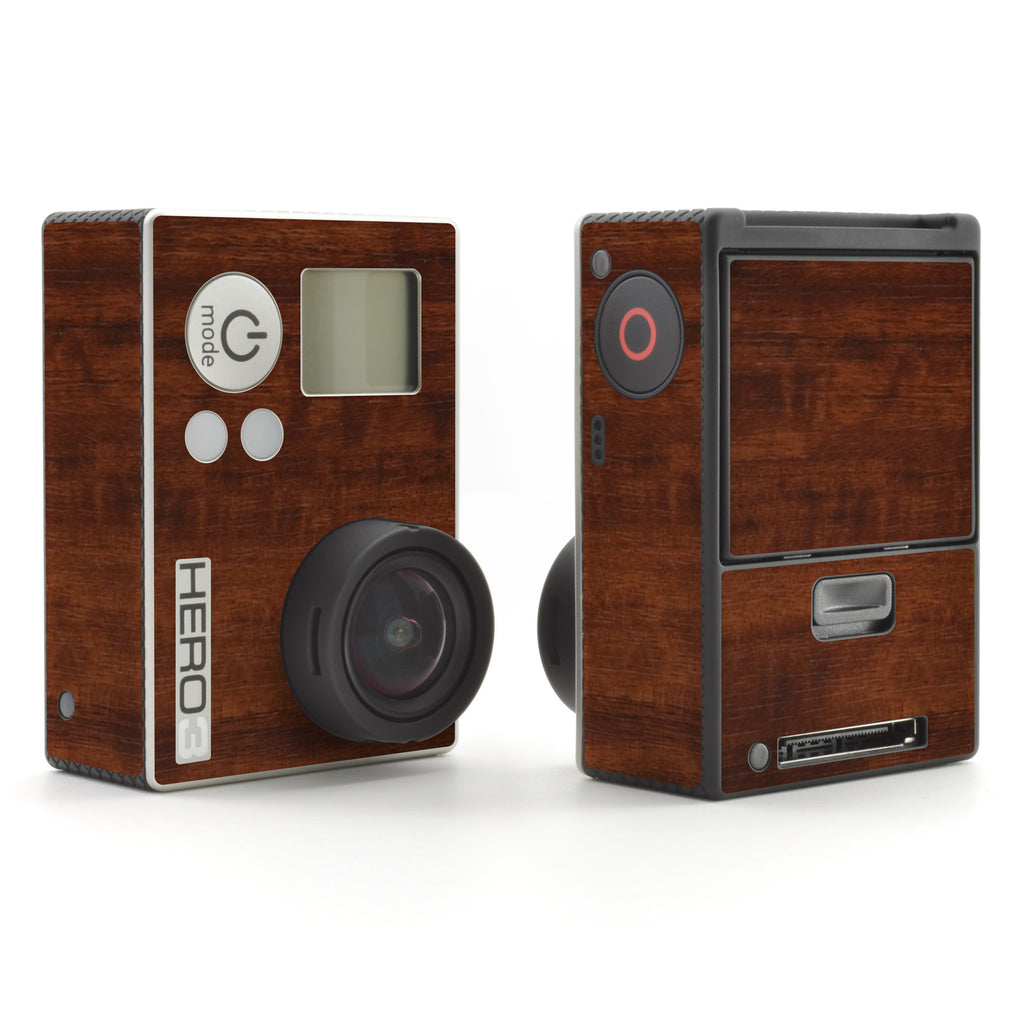GoPro Hero 3 Skins - Wood Grain - iCarbons - 1