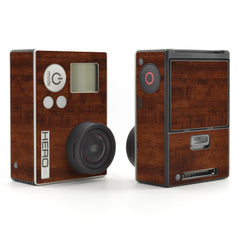 GoPro Hero 3 Skins - Wood Grain