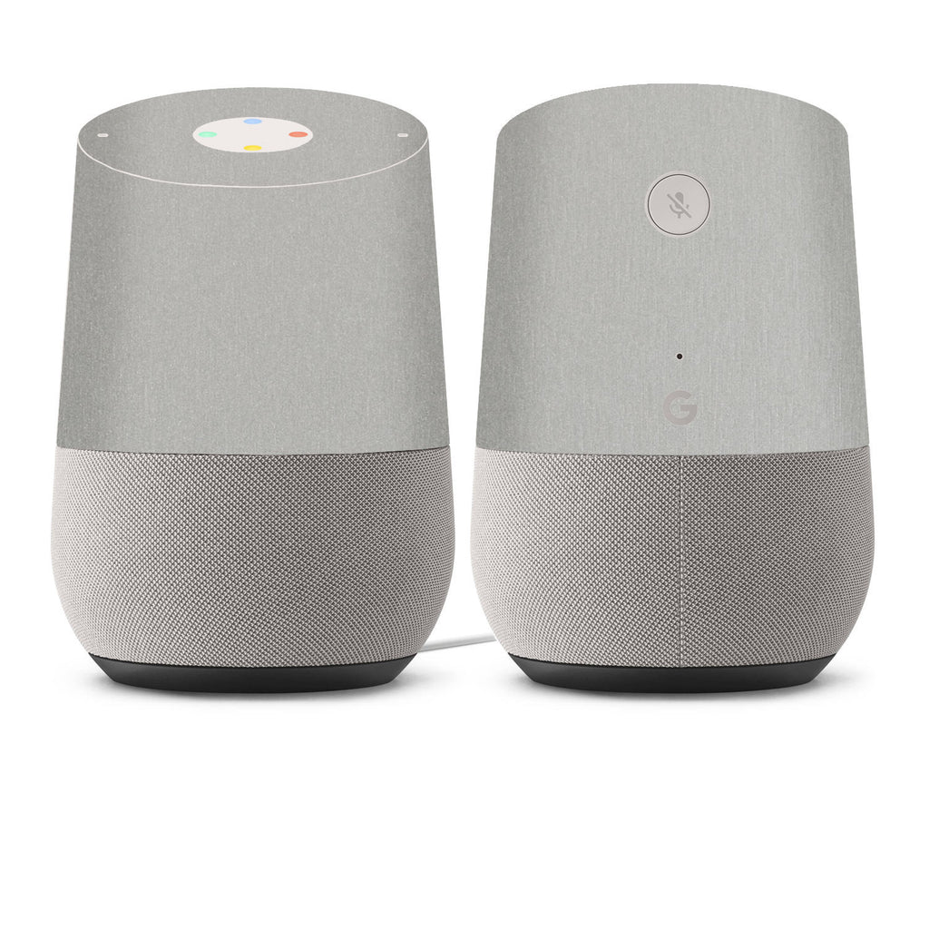Google Home Skins - Brushed Metal