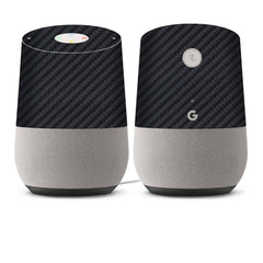 Google Home Skins - Carbon Fiber