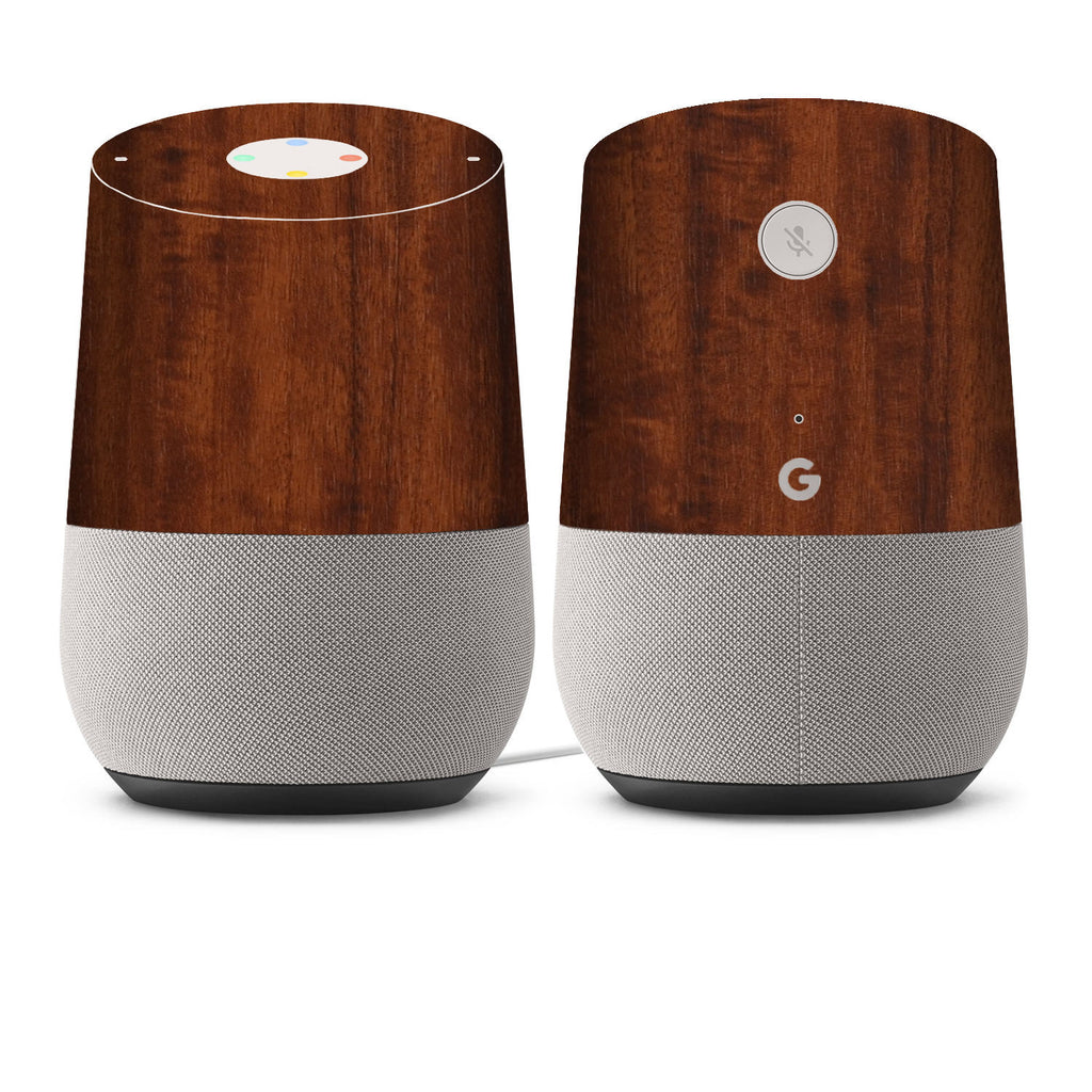 google home skins wood grain