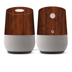 Google Home Skins - Wood Grain