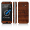 HTC 10 Skins - Wood Grain - iCarbons - 2