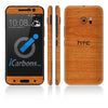 HTC 10 Skins - Wood Grain - iCarbons - 3
